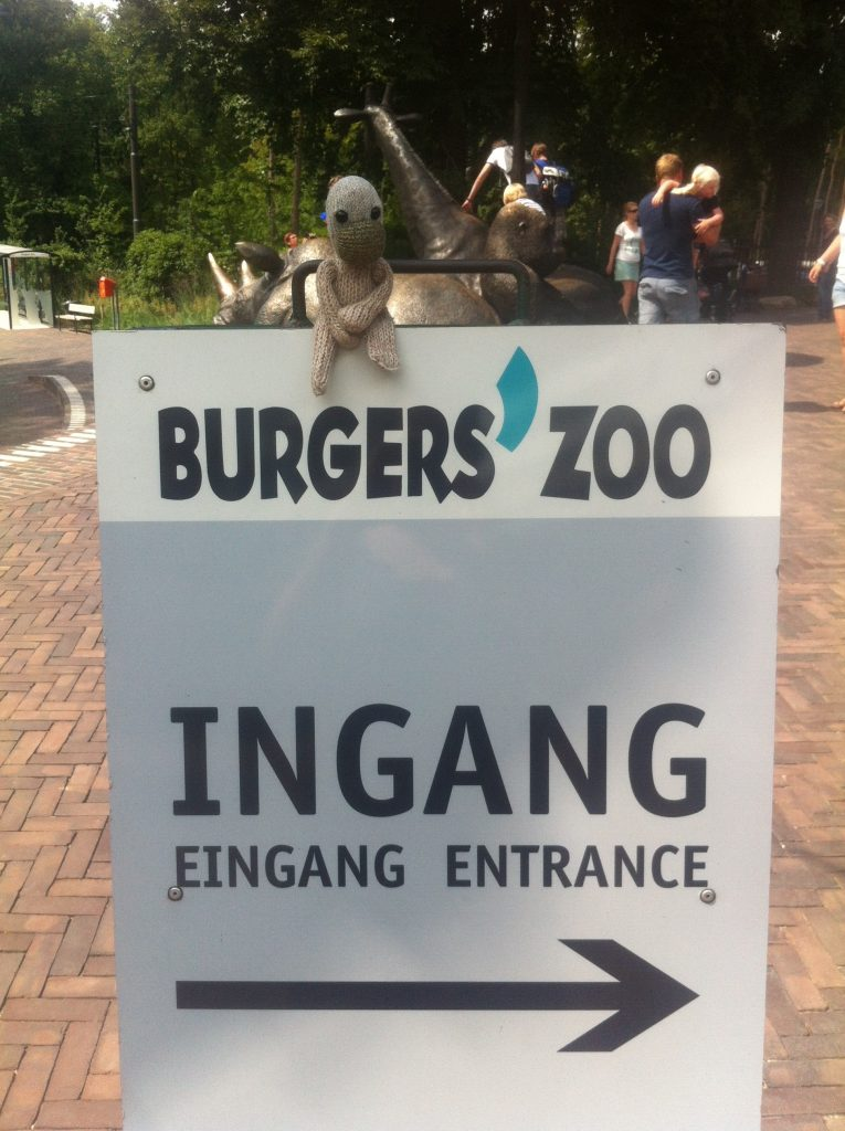 Artis de partis in Burger's Zoo, Arnhem